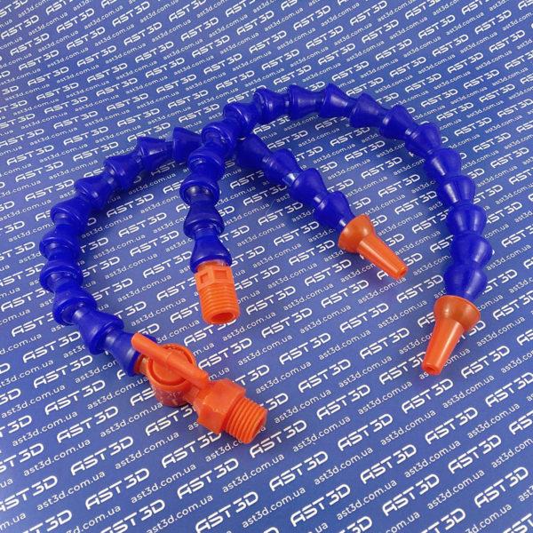 Шарнирная трубка подачи СОЖ (пластик, для ЧПУ станка) - AST3D Украина, Запорожье