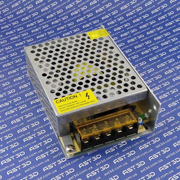 Блок питания 12В 5А 60Вт DC стабилизированный импульсный, металл (блок управления, электроника, arduino) - AST3D Украина, Запорожье