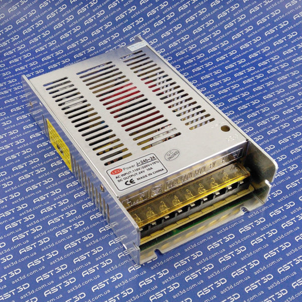 Блок питания 24В 10А 240Вт DC стабилизированный импульсный (металл, ЧПУ, 3D принтер) - AST3D Украина, Запорожье