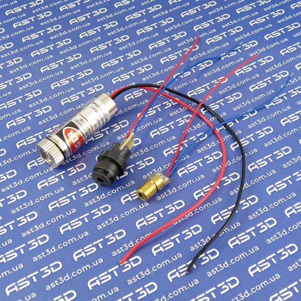 Лазер, лазерная указка для ЧПУ, 3D принтера, гравера (красный луч, указка) - AST3D Украина, Запорожье