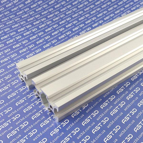 Профиль алюминиевый 20х20 20х40 V-слот (конструкционный, анодированный) - AST3D Украина, Запорожье
