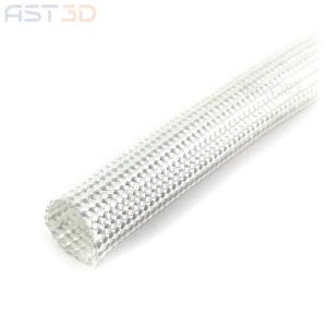 Термостойкая оплетка кабеля – стекловолокно 200мм (обмотка стекловолоконная, кембрик)