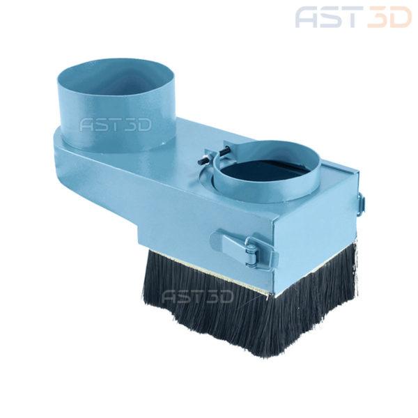 Щетка ЧПУ станка, насадка шпинделя 65/80/100 мм (пылеудаление, аспирация)