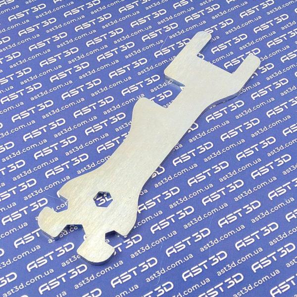 Ключ сопла 3D принтера 5в1, универсальный многофункциональный (обслуживание экструдера)