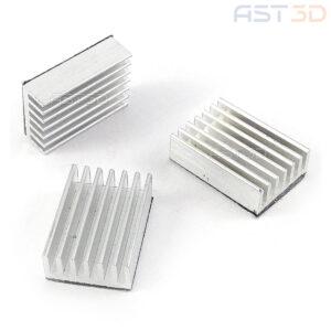 Радиатор алюминиевый 12-35 мм (контроллеры, чипы, процессоры, драйвера)